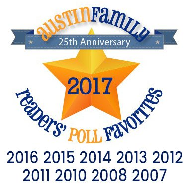 Austin Family Readers' Poll Favorite Logo 2007...2016